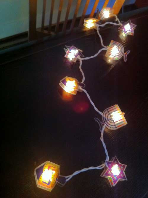 Hanukkah String Lights by Rite Lite - ModernTribe - 2