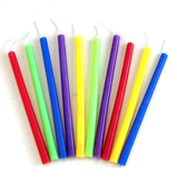 Deluxe Chanukah Candles - Rainbow Colors by Rite Lite - ModernTribe - 1