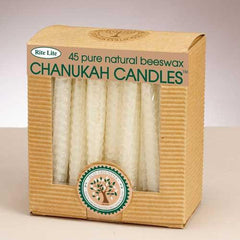 Beeswax Hanukkah Candles by Rite Lite - ModernTribe - 1