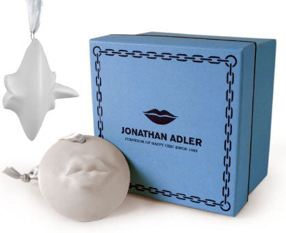 Jonathan Adler Kiss/Tongue Ornament by Jonathan Adler - ModernTribe - 1