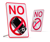 No Sign -- Just Say No To ??? by Monkey Business - ModernTribe - 3