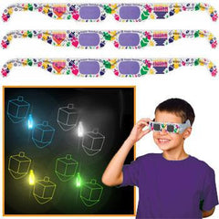 Dreidel Hologram Glasses by JET - ModernTribe - 1