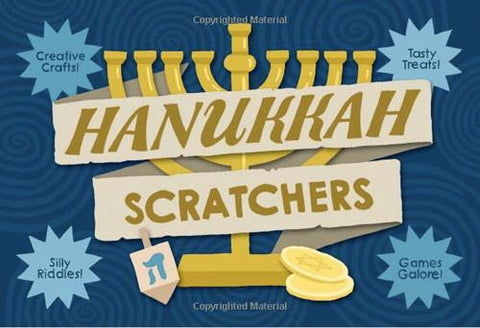 Hanukkah Scratchers - Activity Book - Ages 4-8 by Baker & Taylor - ModernTribe - 1