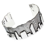 New York City Skyline Bracelet Cuff by Cynthia Gale GeoArt - ModernTribe - 2