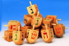 Small Wooden Dreidels by Other - ModernTribe