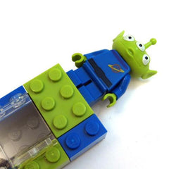 LEGO Mezuzahs: Green Alien From Toy Story by Jewdads - ModernTribe - 1
