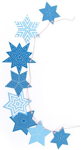 Modern Star of David Hanukkah Decorations by Polli by Polli - ModernTribe - 1