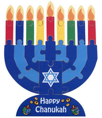 Chanukah Menorah Puzzle by KidKraft - Ages 3+ by Kid Kraft - ModernTribe