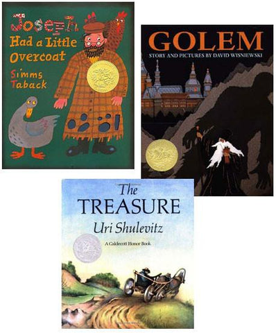 Jewish Child's Starter Library - 3 Caldecott Medal Winners by Baker & Taylor - ModernTribe