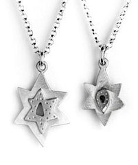 Mother & Daughter Star of David Necklaces by Emily Rosenfeld - ModernTribe