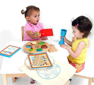My Own Passover Seder Set  with Matzah - Ages 3+ by Kid Kraft - ModernTribe - 1