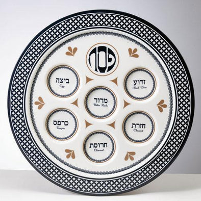 Value Melamine Seder Plate - Case of 24 - ModernTribe