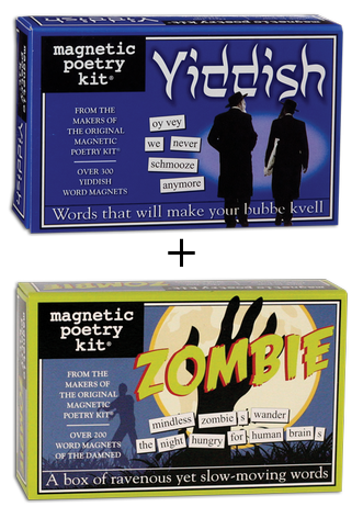 Yiddish Zombie Poetry Magnets by Magnetic Poetry - ModernTribe