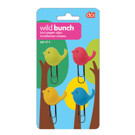 Wild Bunch Bird Paperclips / Bookmarks by Decor Craft - ModernTribe