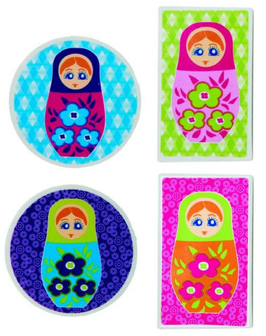 Babushka Jumbo Erasers - 4 Designs by Decor Craft - ModernTribe