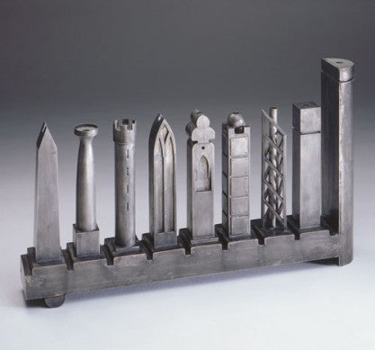 Richard Meier Architectonic Menorah by Jewish Museum - ModernTribe
