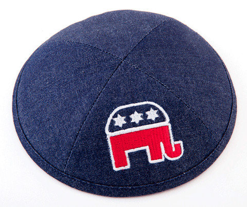 Republican Kippah by ModernTribe - ModernTribe