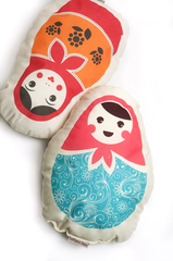 Babushka Cushions by Barbara Shaw - ModernTribe - 1