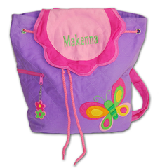 Personalized Embroidered Butterfly Backpack by Damhorst Toys - ModernTribe - 1