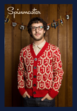 Spinmaster Hanukkah Sweater by Geltfiend - ModernTribe - 1