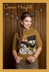 Crown Heights Hanukkah Sweater by Geltfiend - ModernTribe - 1