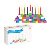 Building Block Menorah - Ages 3+ by Decor Craft - ModernTribe - 2