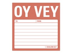 Oy Vey Jewish Sticky Notes by Knock Knock - ModernTribe