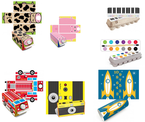 Box Play Stickers - Turn Used Boxes Into Toys by Box Play - ModernTribe - 1