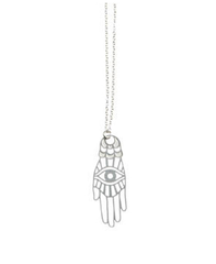 Hamsa Stainless Steel Pendant by Polli by Polli - ModernTribe - 1