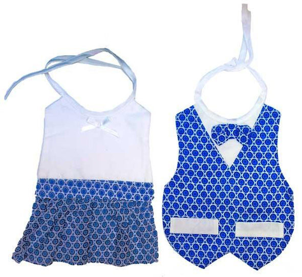 Fancy Star of David Bibs for Girls & Boys - ModernTribe