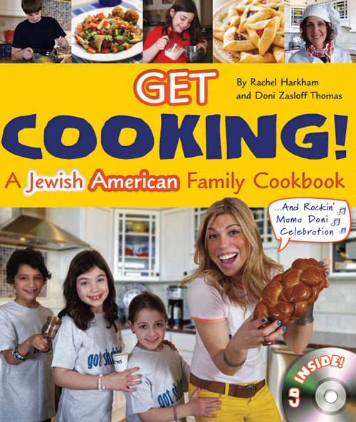 Mama Doni Cookbook Default Mama Doni's Get Cooking! A Jewish American Family Cookbook