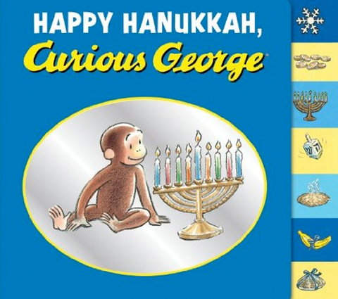 Happy Hanukkah, Curious George by Baker & Taylor - ModernTribe