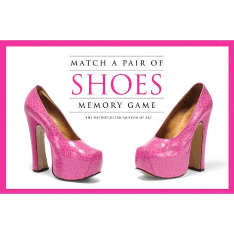 Match a Pair of Shoes Memory Game by Hachette Book Group - ModernTribe
