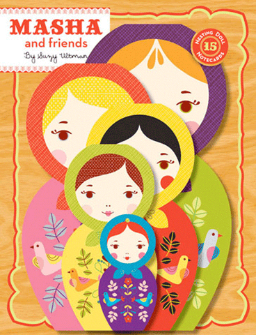 Masha and Friends Notecards by Hachette Book Group - ModernTribe