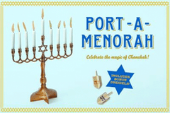 Port-a-Menorah by Hachette Book Group - ModernTribe - 1