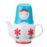 Matryoshka Tea for Two Set by Japanese Gift Market - ModernTribe - 1