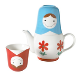 Matryoshka Tea for Two Set by Japanese Gift Market - ModernTribe - 2