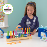 Wooden Play Menorah by KidKraft - Ages 3+ by Kid Kraft - ModernTribe - 3
