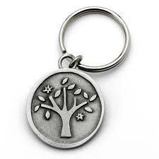 Tree of Life Key Ring by Emily Rosenfeld by Emily Rosenfeld - ModernTribe