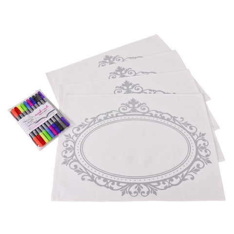 Doodle Placemats by Stitch Doodle by Stitch Doodle - ModernTribe - 1
