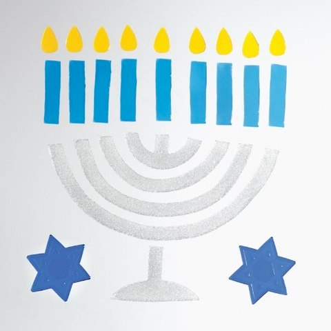 GelGems Hanukkah Window Clings by Design Ideas - ModernTribe