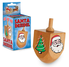 Santa Dreidel by Accoutrements - ModernTribe