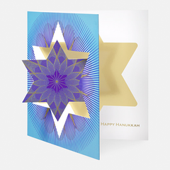 Hanukkah Star Greeting Card by Museum of Modern Art - ModernTribe