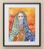 Woman of Valor Print by Susie Lubell by Susie Lubell - ModernTribe - 2