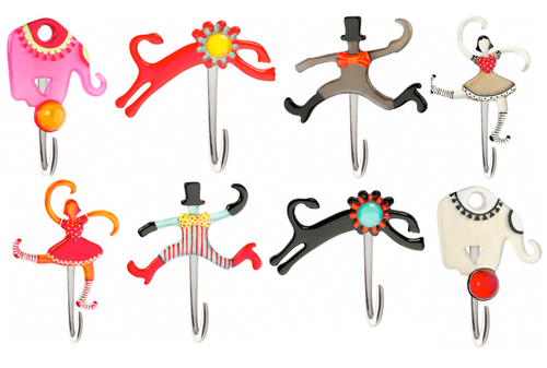 Orna Lalo Decor Circus Mobile Coordinating Hooks