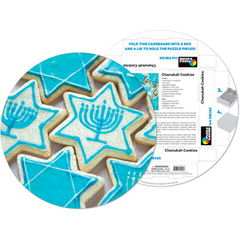 Hanukkah Cookies Puzzle - 140 pieces! - Ages 7+ by Pigment & Hue - ModernTribe