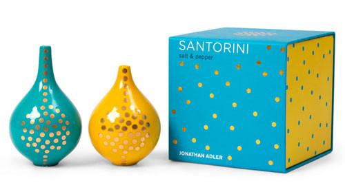 Jonathan Adler Salt & Pepper Shakers Default Santorini Shakers by Jonathan Adler