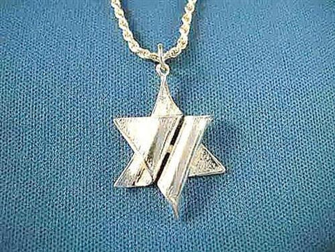 Sterling Silver Star of David Pendant by Copa Judaica - ModernTribe
