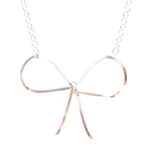 by boe Necklaces Reminder Bow Necklace