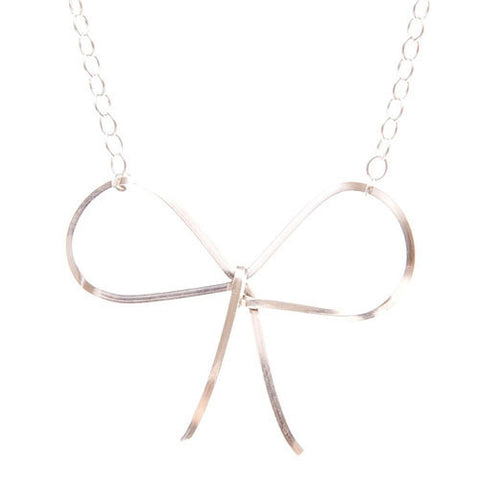 Reminder Bow Necklace by by boe - ModernTribe - 1